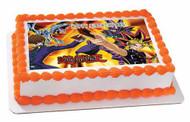 YU-GI-OH 1 Edible Birthday Cake Topper OR Cupcake Topper, Decor
