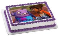Home (II-2015) Edible Birthday Cake Topper OR Cupcake Topper, Decor