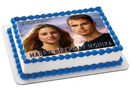 Divergent Edible Birthday Cake Topper OR Cupcake Topper, Decor