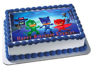 "Edible Cake Topper - 10"" x 16"" (1/2 sheet) rectangular Edible Cake Topper - 7.5"" x 10"" (1/4 sheet) rectangular"