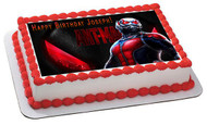 Ant Man Edible Birthday Cake Topper OR Cupcake Topper, Decor