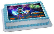 Miles From Tomorrowland Edible Birthday Cake Topper OR Cupcake Topper, Decor