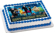 Hotel Transylvania Edible Birthday Cake Topper OR Cupcake Topper, Decor
