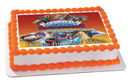 Skylanders Superchargers Edible Birthday Cake Topper OR Cupcake Topper, Decor