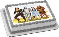 The Wizard of Oz Edible Birthday Cake Topper OR Cupcake Topper, Decor