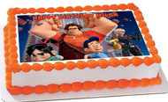 Wreck It Ralph Edible Birthday Cake Topper OR Cupcake Topper, Decor