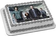 Supernatural Edible Birthday Cake Topper OR Cupcake Topper, Decor