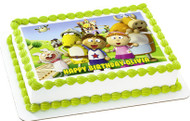 Tickety Toc Edible Birthday Cake Topper OR Cupcake Topper, Decor