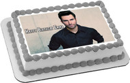 Adam Levine Edible Birthday Cake Topper OR Cupcake Topper, Decor