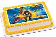 Slugterra Edible Birthday Cake Topper OR Cupcake Topper, Decor
