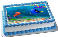 Finding Dory Edible Birthday Cake Topper OR Cupcake Topper, Decor