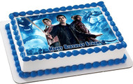 Percy Jackson Edible Birthday Cake Topper OR Cupcake Topper, Decor