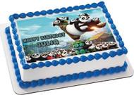 Kung Fu Panda 3 B Edible Birthday Cake Topper OR Cupcake Topper, Decor