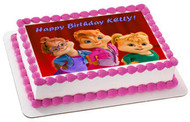 ALVIN AND THE CHIPMUNKS ROAD CHIP (Nr5) - Edible Cake Topper OR Cupcake Topper