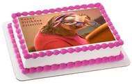 Zootopia 4 Priscilla Sloth Edible Birthday Cake Topper OR Cupcake Topper, Decor