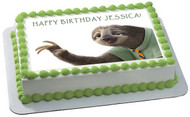 Zootopia 8 Edible Birthday Cake Topper OR Cupcake Topper, Decor