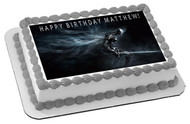 Dark Souls 3 Edible Birthday Cake Topper OR Cupcake Topper, Decor