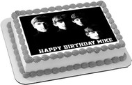 Beatles Edible Birthday Cake Topper OR Cupcake Topper, Decor
