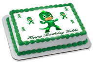 PJ Masks Gekko - Edible Cake Topper OR Cupcake Topper, Decor
