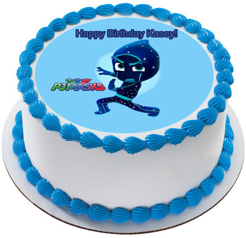 PJ Masks Night Ninja Edible Birthday Cake Topper