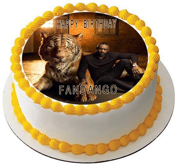 The Jungle Book Movie 2 Edible Birthday Cake Topper