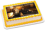 The Jungle Book Movie 2 Edible Birthday Cake Topper OR Cupcake Topper, Decor