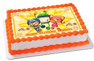 Team Umizoomi 2 Edible Birthday Cake Topper OR Cupcake Topper, Decor