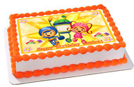 Team Umizoomi 2 Edible Birthday Cake Topper OR Cupcake Topper, Decor
