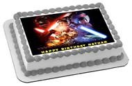 Lego Star Wars 4 Edible Birthday Cake Topper OR Cupcake Topper, Decor