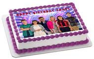 Evermoor Edible Birthday Cake Topper OR Cupcake Topper, Decor