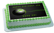 Video game systems Edible Birthday Cake Topper OR Cupcake Topper, Decor
