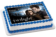 Twilight Edible Birthday Cake Topper OR Cupcake Topper, Decor