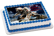 Halo 4 Edible Birthday Cake Topper OR Cupcake Topper, Decor