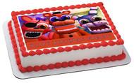 Fnaf World 4 Edible Birthday Cake Topper OR Cupcake Topper, Decor