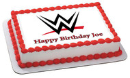 WWE Edible Birthday Cake Topper OR Cupcake Topper, Decor