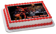 Five Nights at FREDDY'S FOXY FNAF Foxy Edible Birthday Cake Topper OR Cupcake Topper, Decor