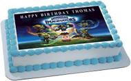 Skylanders Imaginators Edible Birthday Cake Topper OR Cupcake Topper, Decor