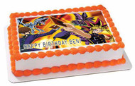 YU GI OH 1 Edible Birthday Cake Topper OR Cupcake Topper, Decor