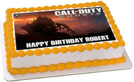 Call of Duty Ghosts Edible Birthday Cake Topper OR Cupcake Topper, Decor