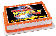 BACK TO THE FUTURE 2 Edible Birthday Cake Topper OR Cupcake Topper, Decor