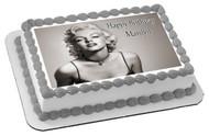 Marilyn Monroe (Nr2) - Edible Cake Topper OR Cupcake Topper, Decor