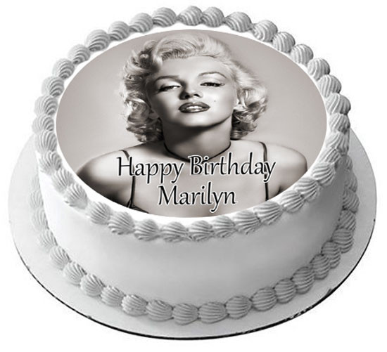 Miraculous Marilyn Monroe 2 Edible Birthday Cake Topper Funny Birthday Cards Online Alyptdamsfinfo