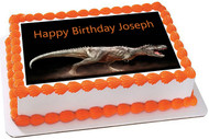 Dinosaur Edible Birthday Cake Topper OR Cupcake Topper, Decor