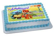 Wallykazam - Edible Cake Topper OR Cupcake Topper, Decor