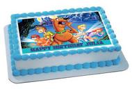 Scooby-Doo (Nr2) - Edible Cake Topper OR Cupcake Topper, Decor