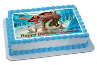 Moana 1 Edible Birthday Cake Topper OR Cupcake Topper, Decor