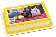 The Secret Life of Pets 3 Edible Birthday Cake Topper OR Cupcake Topper, Decor