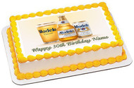 Modelo beer Edible Birthday Cake Topper OR Cupcake Topper, Decor