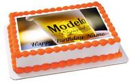 Modelo beer 2 Edible Birthday Cake Topper OR Cupcake Topper, Decor