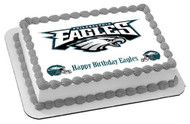 Philadelphia Eagles Edible Birthday Cake Topper OR Cupcake Topper, Decor